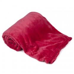 Deka růžovo červená 150 x 200 cm