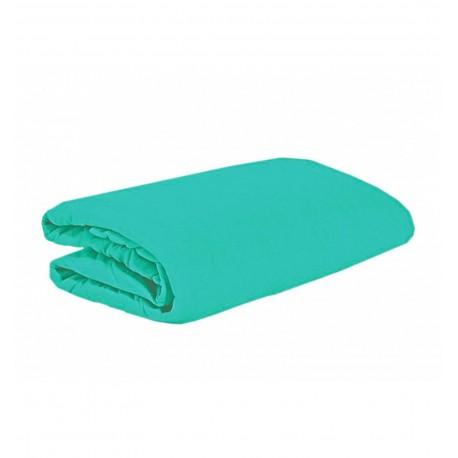Jersey prostěradlo tyrkysově modrá